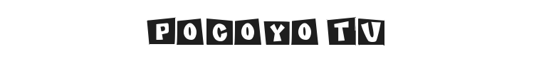 Pocoyo TV Font Preview