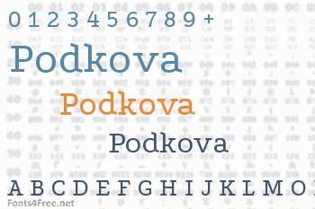 Podkova Font