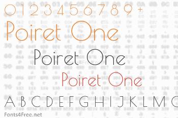 Poiret One Font