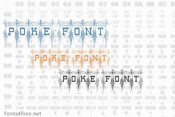 Poke Font