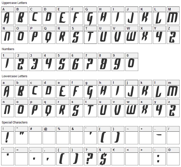 Pokemon Alpha Sapphire Font Character Map
