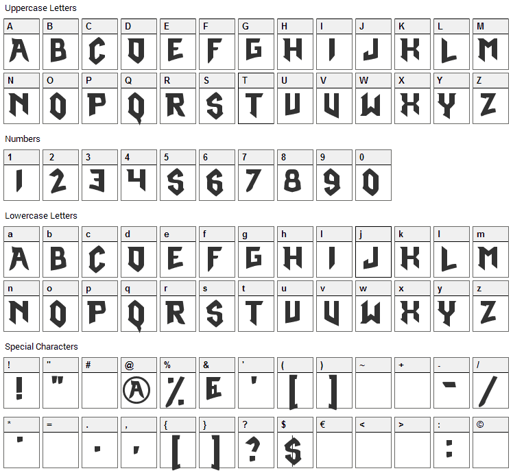 Pokemon Omega Ruby Font Character Map