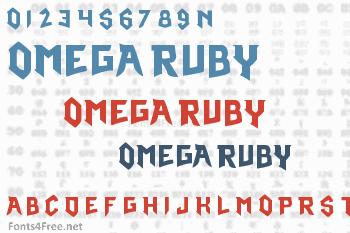 Pokemon Omega Ruby Font