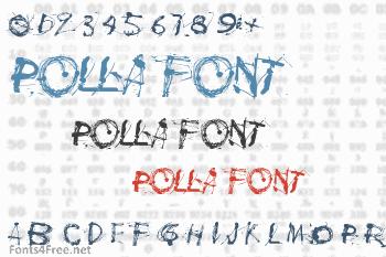Polla Font