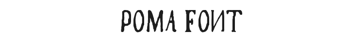 Poma Font Preview