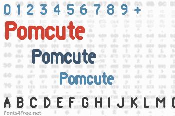 Pomcute Font