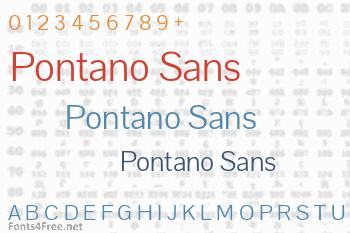 Pontano Sans Font