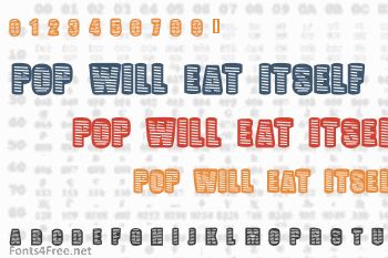 Pop Will Eat Itself Font