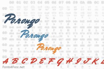Porongo Font