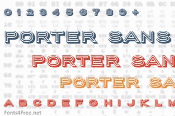 Porter Sans Block Font