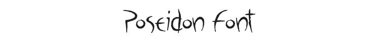 Poseidon Font Preview