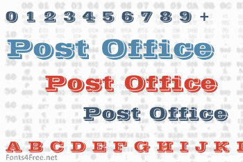 Post Office Font
