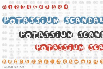 Potassium Scandal Font
