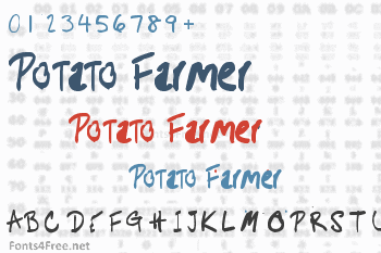 Potato Farmer Font