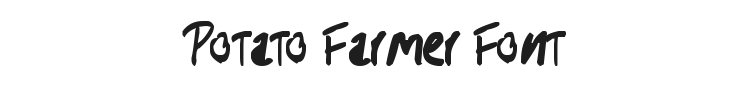 Potato Farmer Font Preview