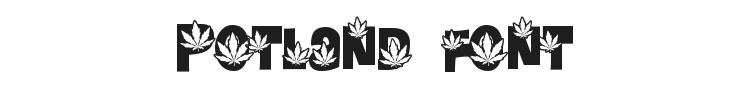 Potland Font Preview