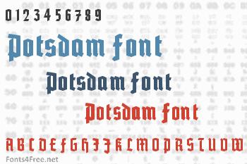Potsdam Font