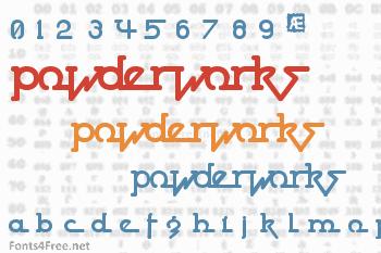 Powderworks Font