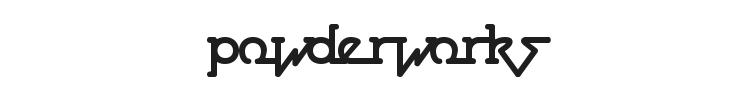 Powderworks Font Preview
