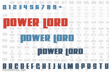 Power Lord Font