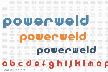 Powerweld Font