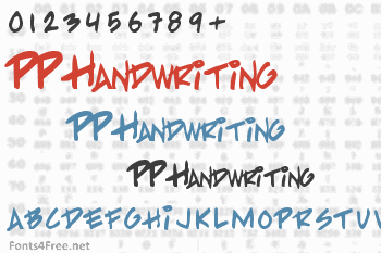 PP Handwriting Font