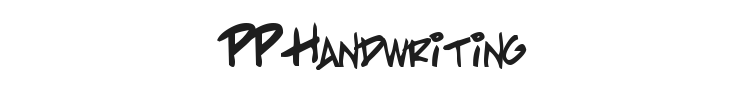 PP Handwriting Font Preview
