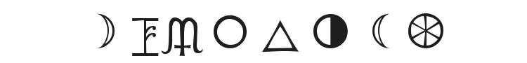 PR Astro Font Preview