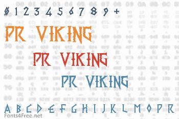 PR Viking Font