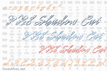 PR8 Shadow Cat Font