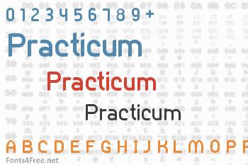 Practicum Font