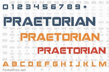 Praetorian Font