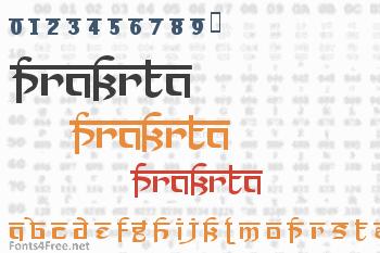 Prakrta Font