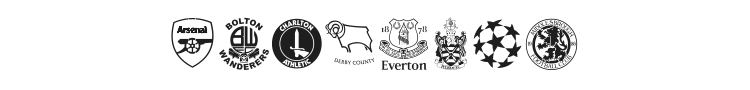 Premiership Font Preview