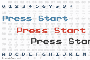 Press Start Font