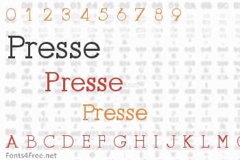 Presse Font