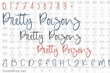 Pretty Poisons Font