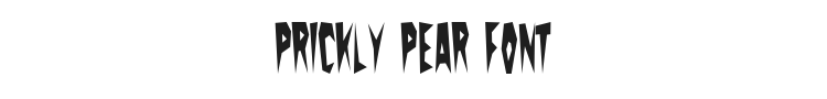 Prickly Pear Font Preview