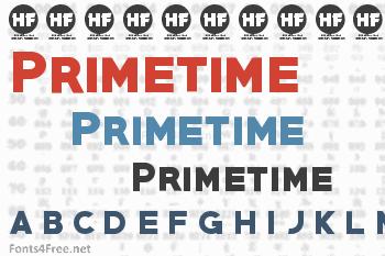 Primetime Font