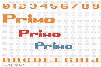 Primo Font