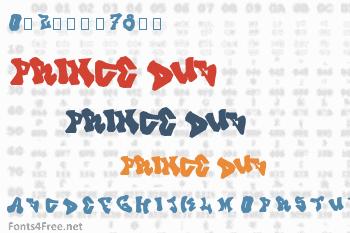 Prince Dub Font