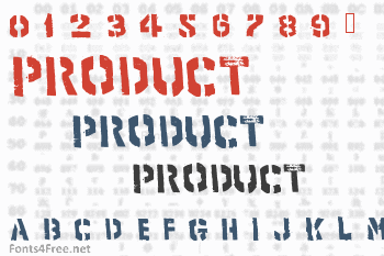 Product Font