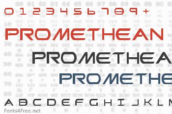 Promethean Font