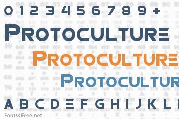 Protoculture Font