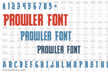 Prowler Font