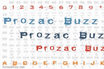 Prozac Buzz Font