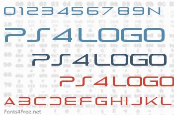 PS4 Logo Font