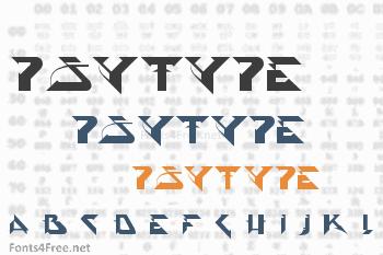 PsyType Font