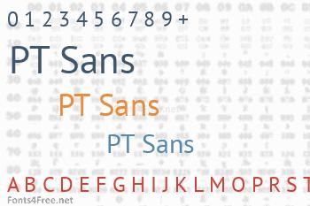 PT Sans Font