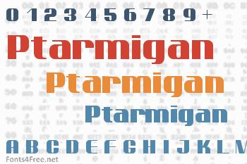 Ptarmigan Font